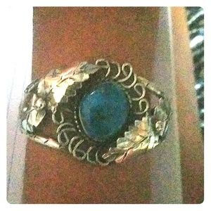 Jewelry - Silver and turquoise women's bracelet